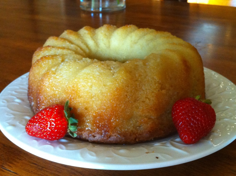 Golden Butter Pound Cake