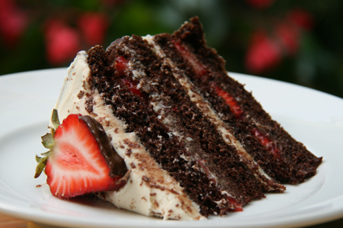 Chocolate Strawberry Truffle Cake and the Speed of Life | Sweet And ...