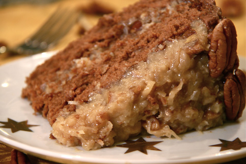 German Chocolate Cake Deliver