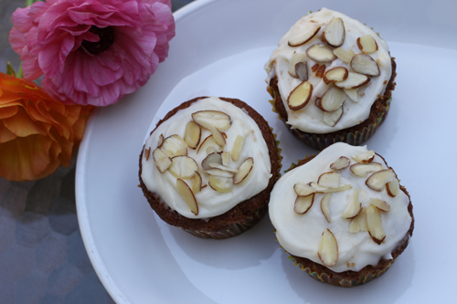 Parsnip Cupcakes with Maple Cream Cheese Frosting | Sweet And Crumby