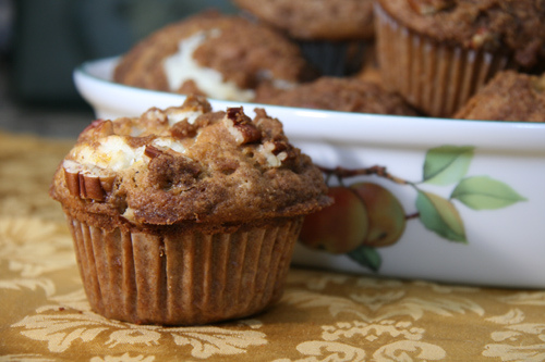Pumpkin Cream Cheese muffin Sweet and crumby