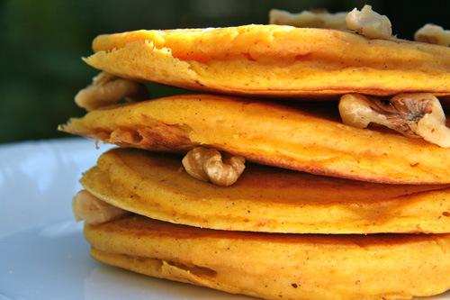 Pumpkin Pancakes Sweet and Crumby